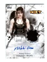 WWE Nikki Cross 2018 Topps Undisputed Autograph Relic Card SN 93 of 99