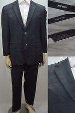 Hugo Boss Men's $750 Suit Pasolini Movie Size 40S Short 33 X 28 Dark Blue Checks