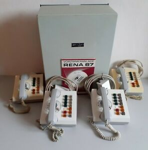 Alte DDR RFT Telefon Vorzimmeranlage RENA 67 Telefonanlage Telefonzentrale NVA