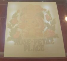 Vintage Rose Petal Place T-Shirt Iron On Transfer