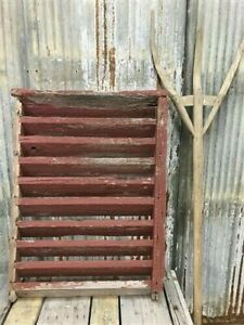 Wood Barn Louver, Architectural Salvage Shutter, Rustic Decor, Old Barn Vent G,