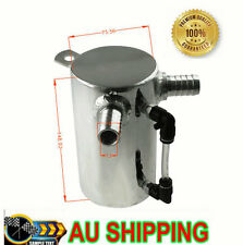 ASI 0.5L Aluminum Oil CATCH CAN BREATHER TANK RESERVOIR Polished