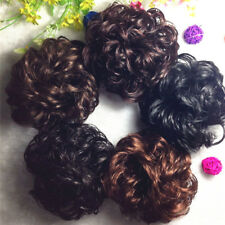 Claw Clip In Hair Bun Wave Curly Hair Piece Chignon Updo Cover Hair Extension