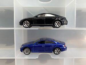Lamley Error Sale: Matchbox Mercedes-Benz CLS500 ERROR wheel & no tampo lot of 2