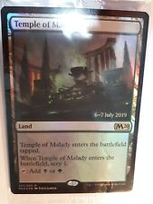 Temple of Malady *FOIL PRERELEASE PROMO* NM MTG