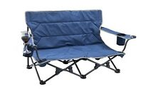 OZTRAIL FESTIVAL TWIN 2 PERSON FOLDING ARM CHAIR CAMP SEAT BEACH CAMPING PICNIC