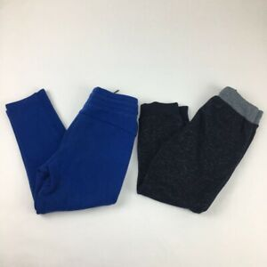 Gap Fit G Dry Sovereign Codes Boys Lot Of 2 Activewear Pants Blue Black S/6