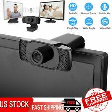 1920×1080P Full HD 30fps Webcam Supports for Windows 2000/XP/7/8/10/Vista 32bit