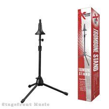 TROMBONE STAND. STURDY TUBULAR STEEL STAND WITH TRIPOD BASE - BWA91