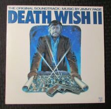 1982 Jimmy Page - Death Wish II LP EX/VG+ Swan Song – SS 8511 OST