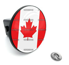 "2"" Tow Hitch Receiver Plug Cover Insert For SUV's & Trucks - ""CANADIAN FLAG"""