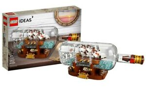 LEGO Ideas Ship in a Bottle 92177 Expert Building Kit 100% Complete