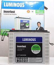 Luminous 150AH Tall Tubular Battery- New Release - 48 (30 + 18) Months Warranty