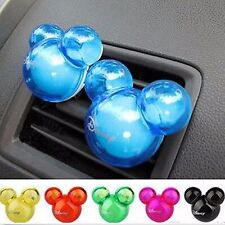 4pcs Mickey Mouse Car Auto Air Freshener Auto Perfume Diffuser Fragrance Clip