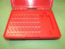 50 Pcs Class Zz Steel Pin Plug Gage Gauge Set 011 060 All There In Case
