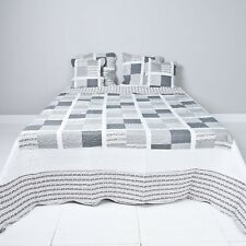 tagesdecke schwarz wei g nstig kaufen ebay. Black Bedroom Furniture Sets. Home Design Ideas