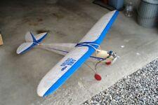 "Old Timer Vintage Thermal Magnet  72"" Free flight/ RC Prined Plans & Templates"