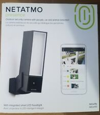 NETATMO Presence NOC01-US Outdoor Security Camera People Car Animal Detection