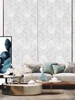2-Geometric Pattern Wallpaper Sticker Peel & Stick Contact Paper Free Shipping