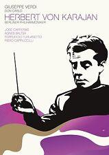 HERBERT VON KARAJAN - VERDI: DON CARLO  DVD NEU