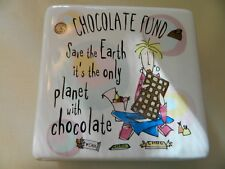 2010 Born To Shop Chocolate Fund Bank - Cute