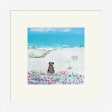 Hannah Cole Framed Print, Sea Pinks, White, Light wood or Black Frame