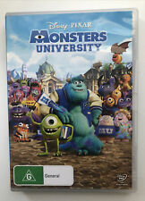 Monsters University - Region 4 DVD - Billy Crystal, John Goodman, Steve Buscemi
