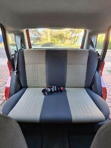Fiat Panda 169 2009 Rear Bench Seat Base & Backrest + Seatbelt buckles (yellow)