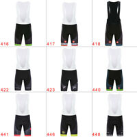 Cycling Bibs Breathable Men's Bib Shorts Quick Dry Pad Riding Bike Short Pants