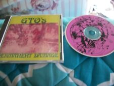 GTO - Permanent Damage - CD Pamela Des Barres Produced by Frank Zappa