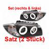 Scheinwerfer Set Angel Eyes für BMW E81 E82 E87 E88 04- 1040021