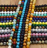 New Wholesale Natural Gemstone Round Spacer Loose Beads 4MM 6MM 8MM 10MM 12MM