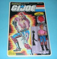 *RECARDED* 1986 GI Joe Zarana v1 Dreadnok Complete Sealed *CUSTOM File Card Back