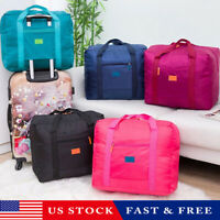 Foldable Large Duffel Bag Luggage Storage Waterproof Travel Pouch Tote Bag USA