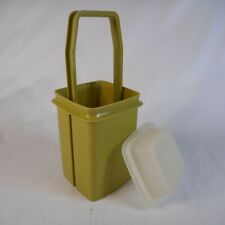 Tupperware Pickle Keeper Green Container and Insert Lid 1330-5