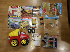"TONKA Chuck and Friends Rumblin' Chuck 12"" & Mini Fold N' Go Playset + MORE!!"