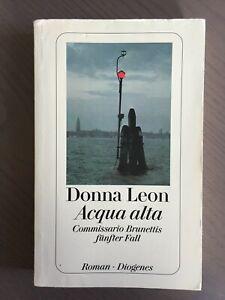 Buch: Aqua alta (1999) - Donna Leon - Taschenbuch