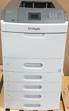 Lexmark MS810N Laserdrucker inkl. 5 Papierschubladen graphit-weiß Zustand gut
