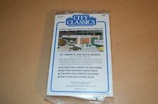 "City Classics HO Scale Kit ""Carson St. Rail/Truck Terminal"" #107 NEW SEALED"