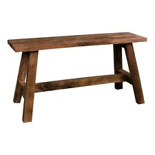 Pkline Bench Billy from Teakwood Seating Bench Wooden Bench Hall Sitting Stool