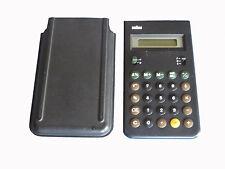 Braun AG Taschenrechner Calculator Typ 4993  #50