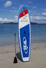 """Seal """"Trident Blue Camo"""" Stand Up Paddleboard - Inflatable SUP"""