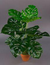 Splitphilo Real Touch 50cm grün im Topf ZJ Kunstpflanzen künstliche Pflanzen