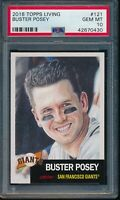 2018 Topps Living Set #121 Buster Posey PSA 10 Gem Mint Card SP Giants 42670430