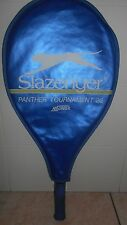 RACCHETTA TENNIS SLAZENGER PANTHER TOURNAMENT 26 ABSORBER , USATA + COVER BLU