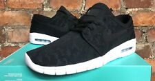 NIKE SB STEFAN JANOSKI MAX UK6 US6.5 EUR39 BLACK WHITE 631303 022 SKATE SURF