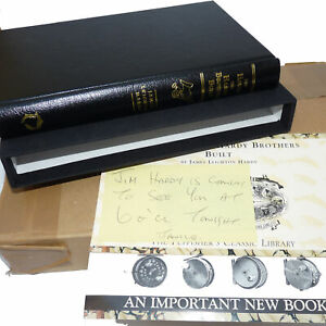 """Book: """"The House The Hardy Brothers Built"""" by JL Hardy, 1st LEATHER SIGNED mi..."""