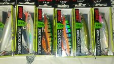 LOT OF (6) RAPALA XRAP_6  LONG CASTING. (2) OLIVE GREEN (2) GLASS GHOST(2) PERCH