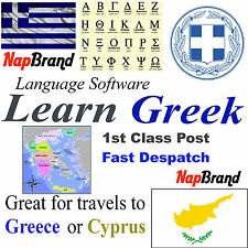 Greek Language Course Holiday or Business use CD mp3 audio & text