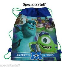 "NEW DISNEY PIXAR MONSTERS INC UNIVERSITY NON WOVEN SLING BAG 14""x11"""